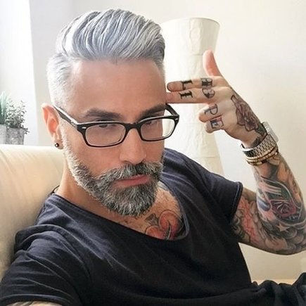 Colored Beard Styles 2019 Latest - Men\'s Hairstyle Swag