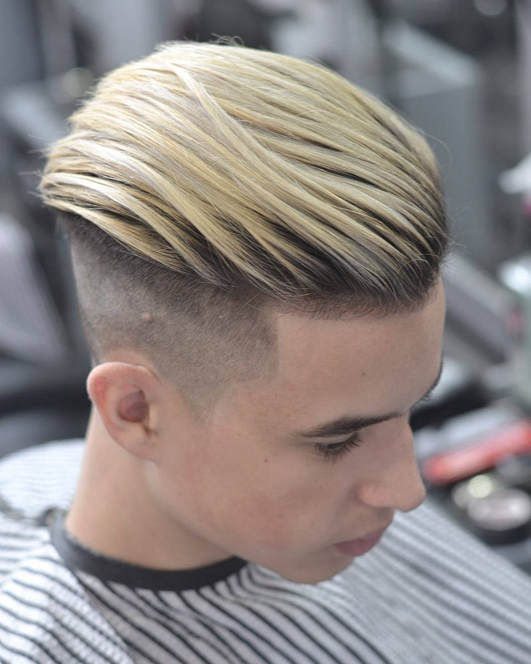 baldysbarbers high textured sweep back cool haircuts for mens with thick hair