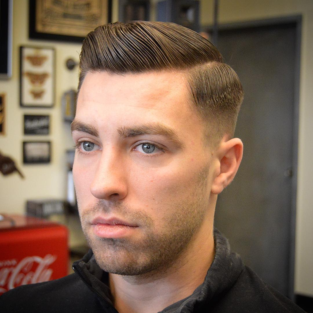barbergreg short pompadour best hairstyle for men the gentleman haircut