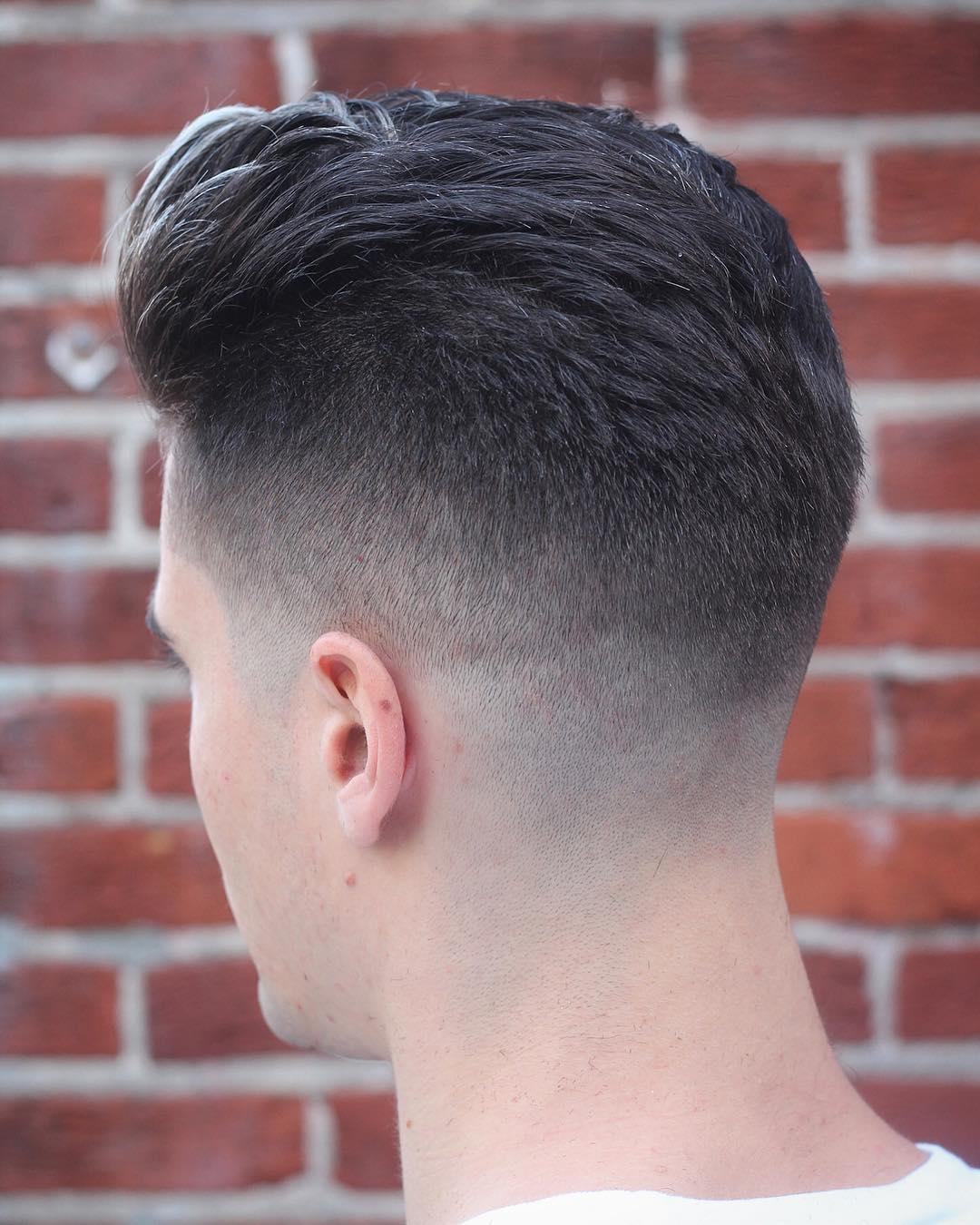 barbermikethomas bald drop fade high low fade side part haircuts 2018