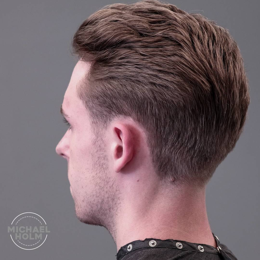 chop_a_gram slick back taper fade cool haircuts for mens with thick hair