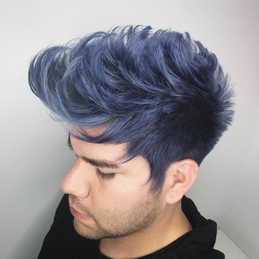 drehair color shade pomp long hairstyles for men 2018