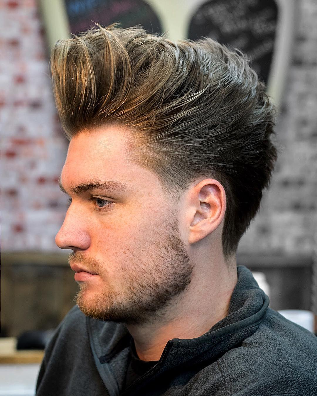 jarredsbarbers long hairstyles for men side part haircuts 2018