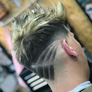 jarredsbarbers mens haircuts neck design neckline hair