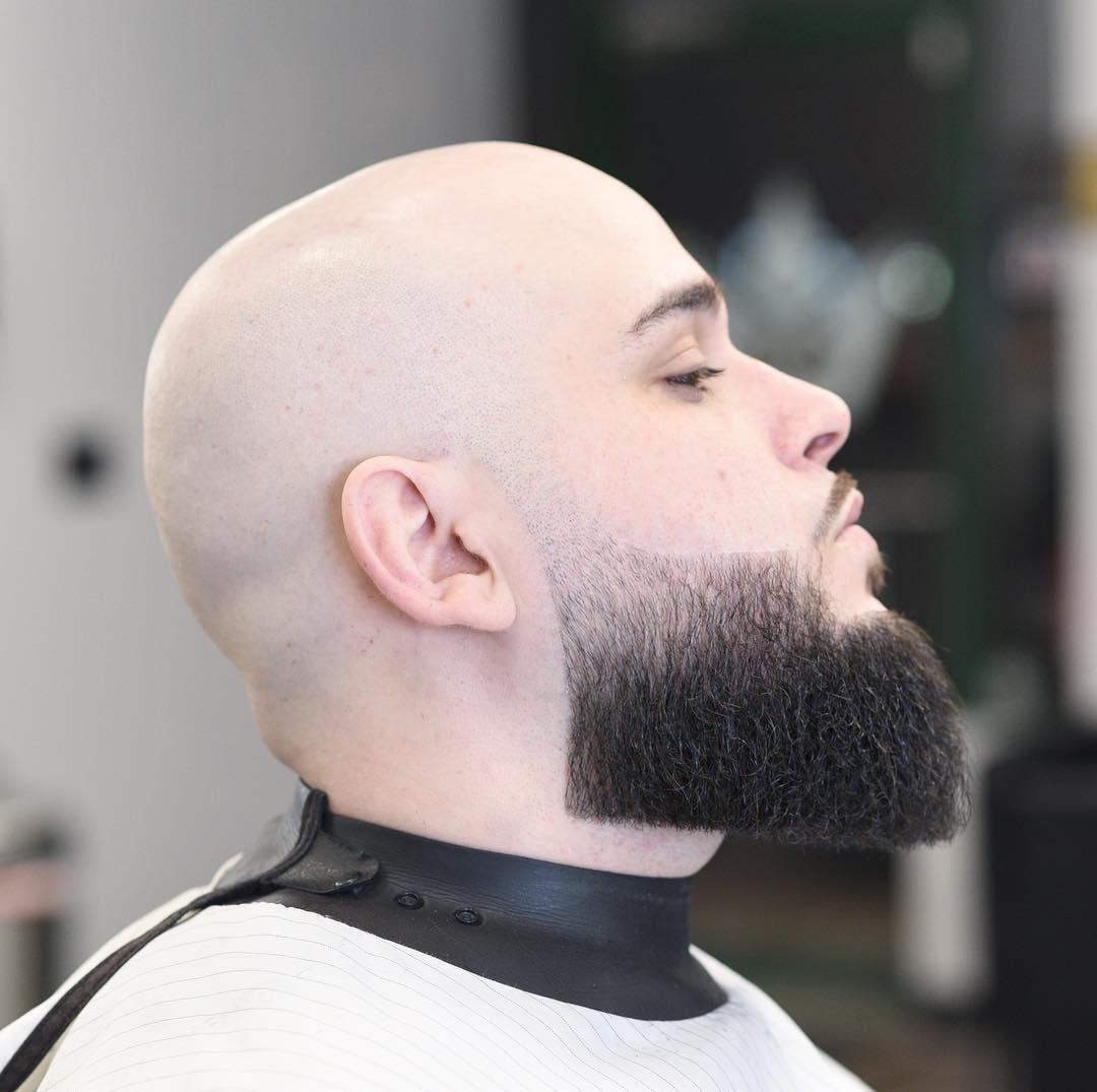 jose.crespo_ bald head high textured beard line up mens haircuts