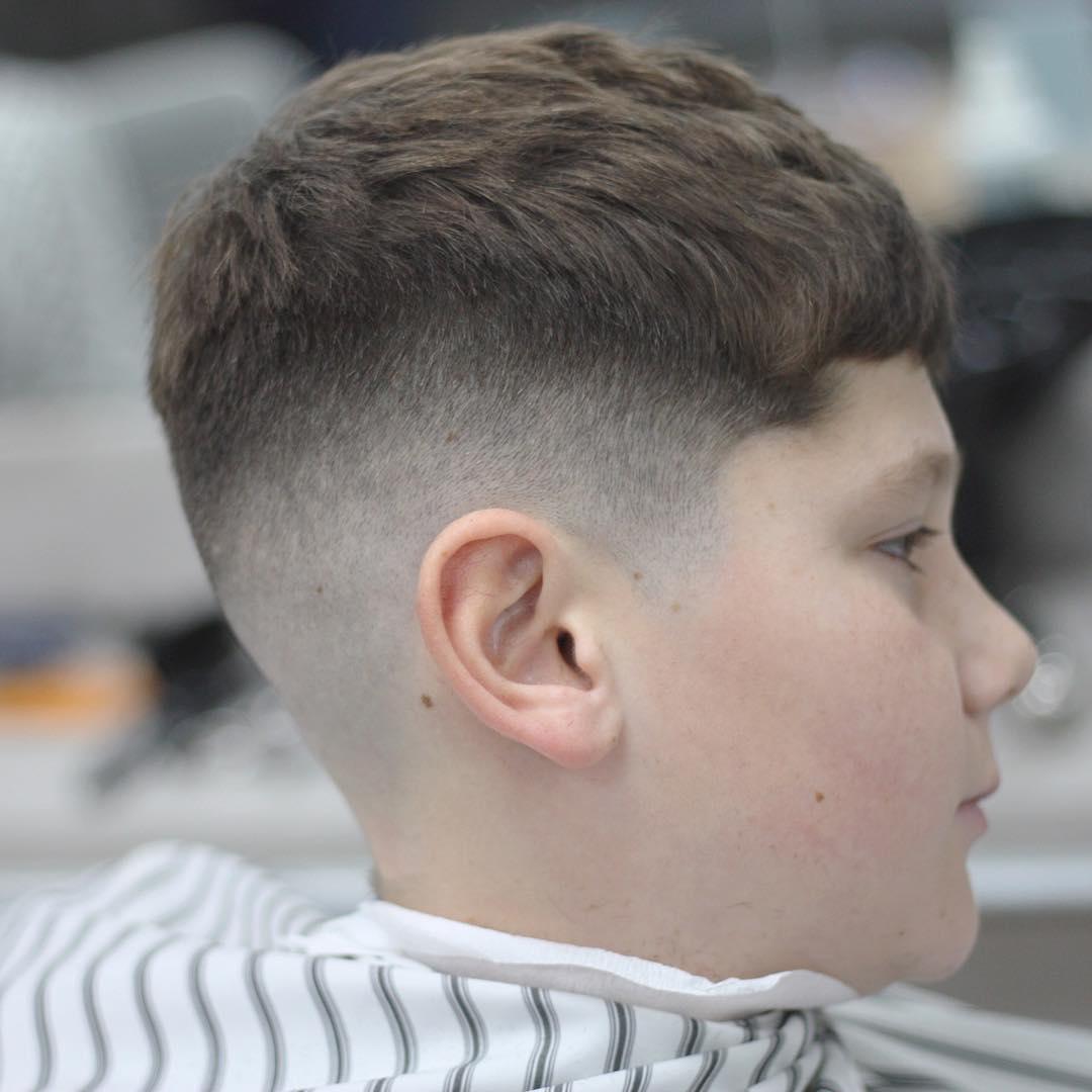 Bald Fade Haircut Kids 34