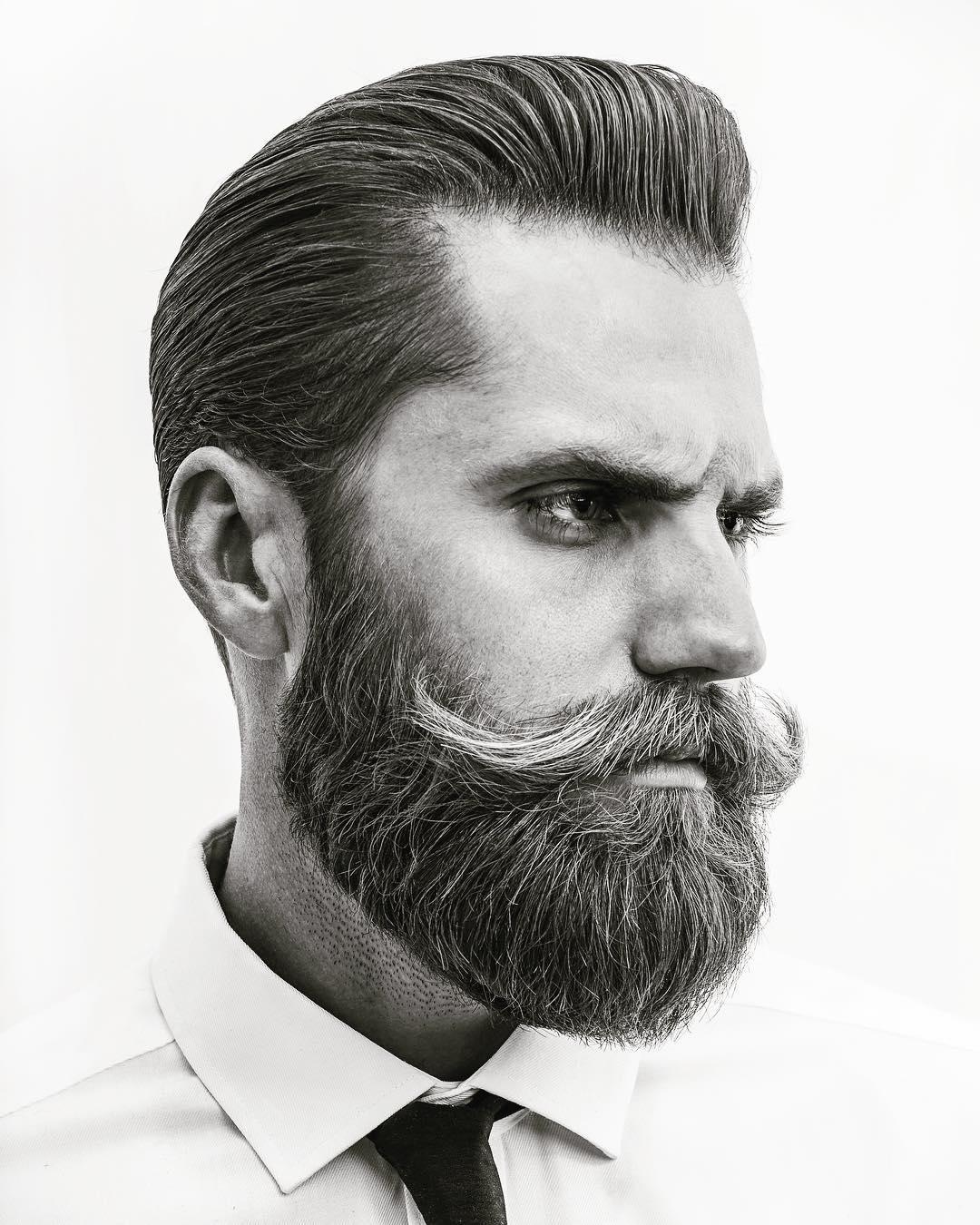 mattyconrad pomp mustache bread mens haircuts
