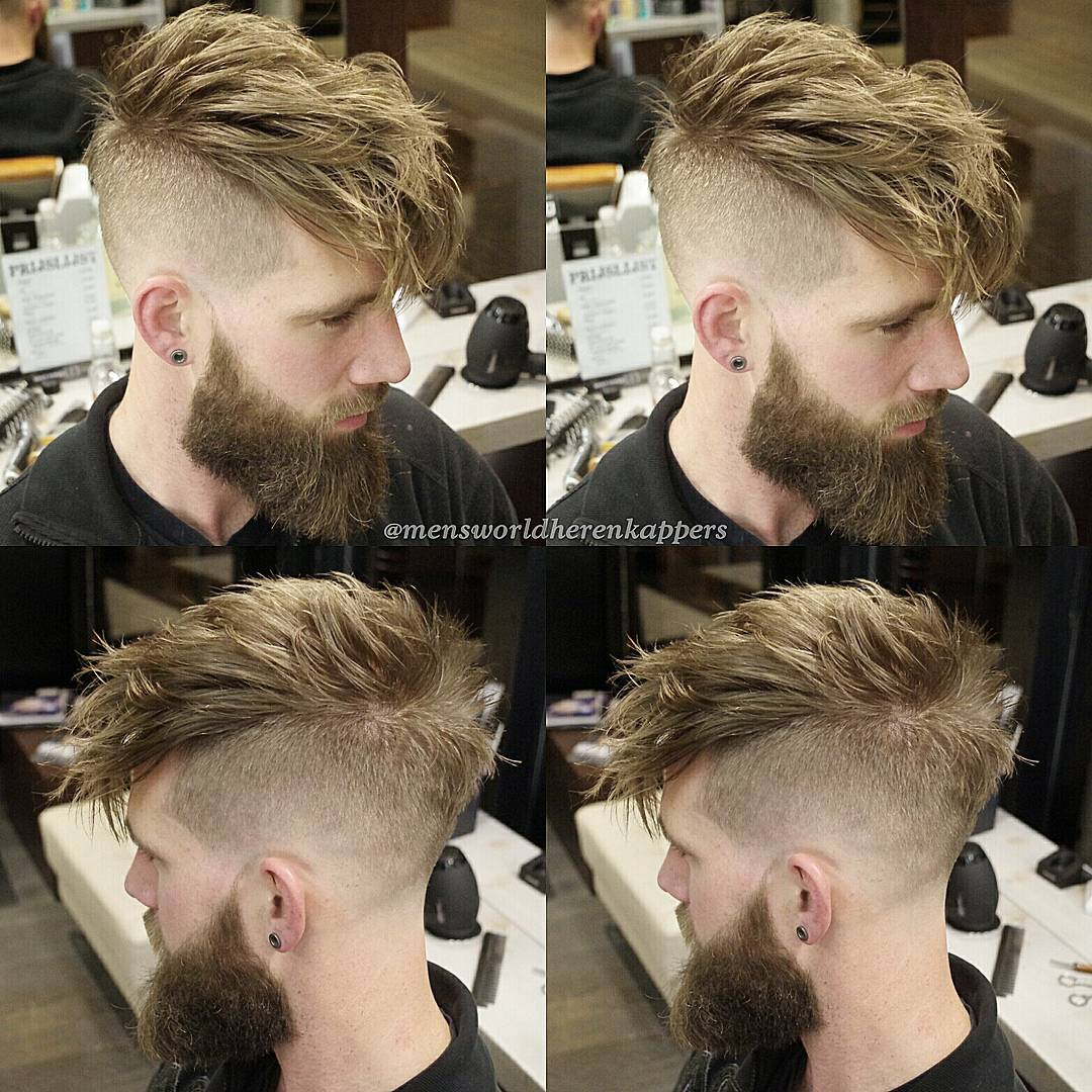 mensworldherenkappers long length spikes high fade haircuts skin fade medium length haircuts 2018