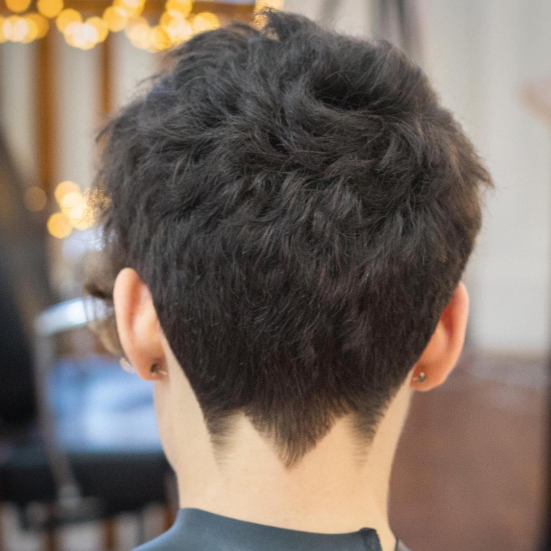 rumbarber short mohawk mens haircuts neck design neckline hair