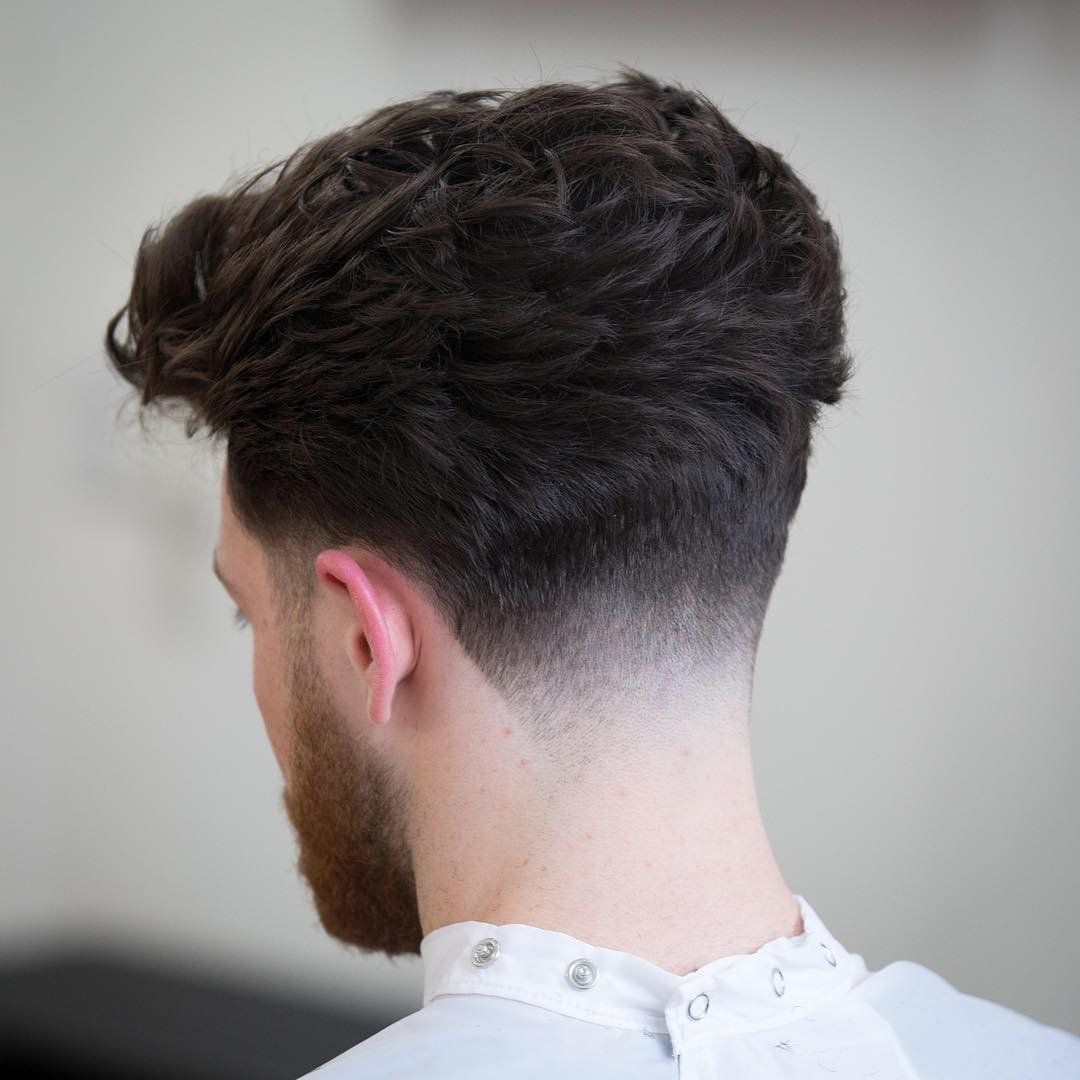 rumbarber skin fade back cool haircuts for mens with thick hair