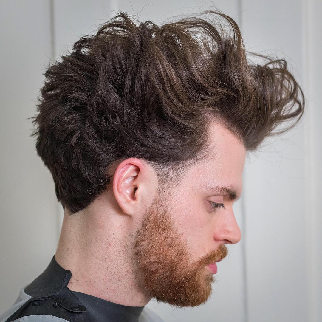 rumbarber wavy pomp fade Popular The Pompadour Haircut
