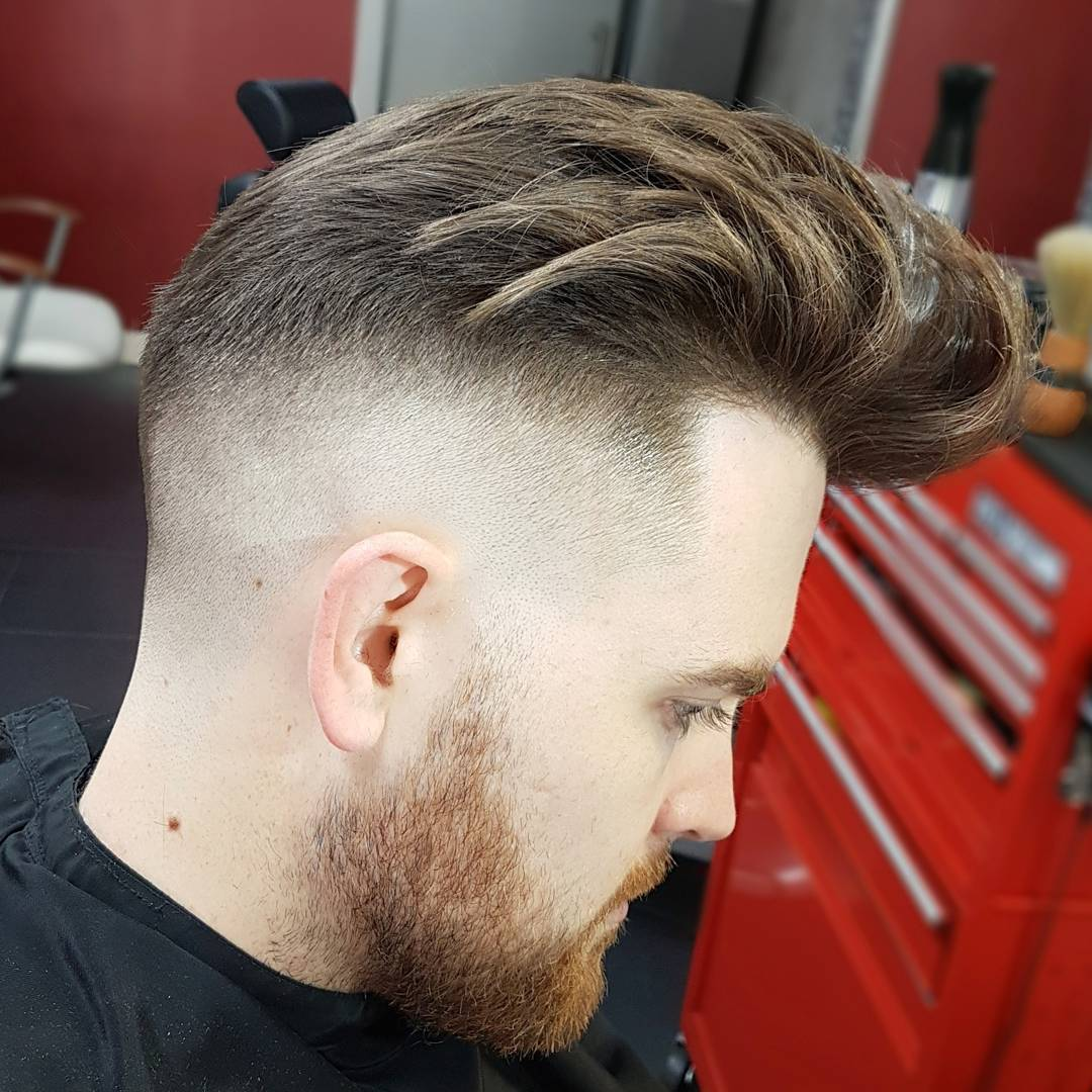 scr_barber_shop low fade pomp Popular The Pompadour Haircut