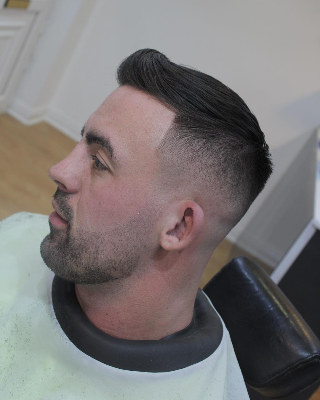sean_the_barber_ short pompadour latest mens hairstyles 2018