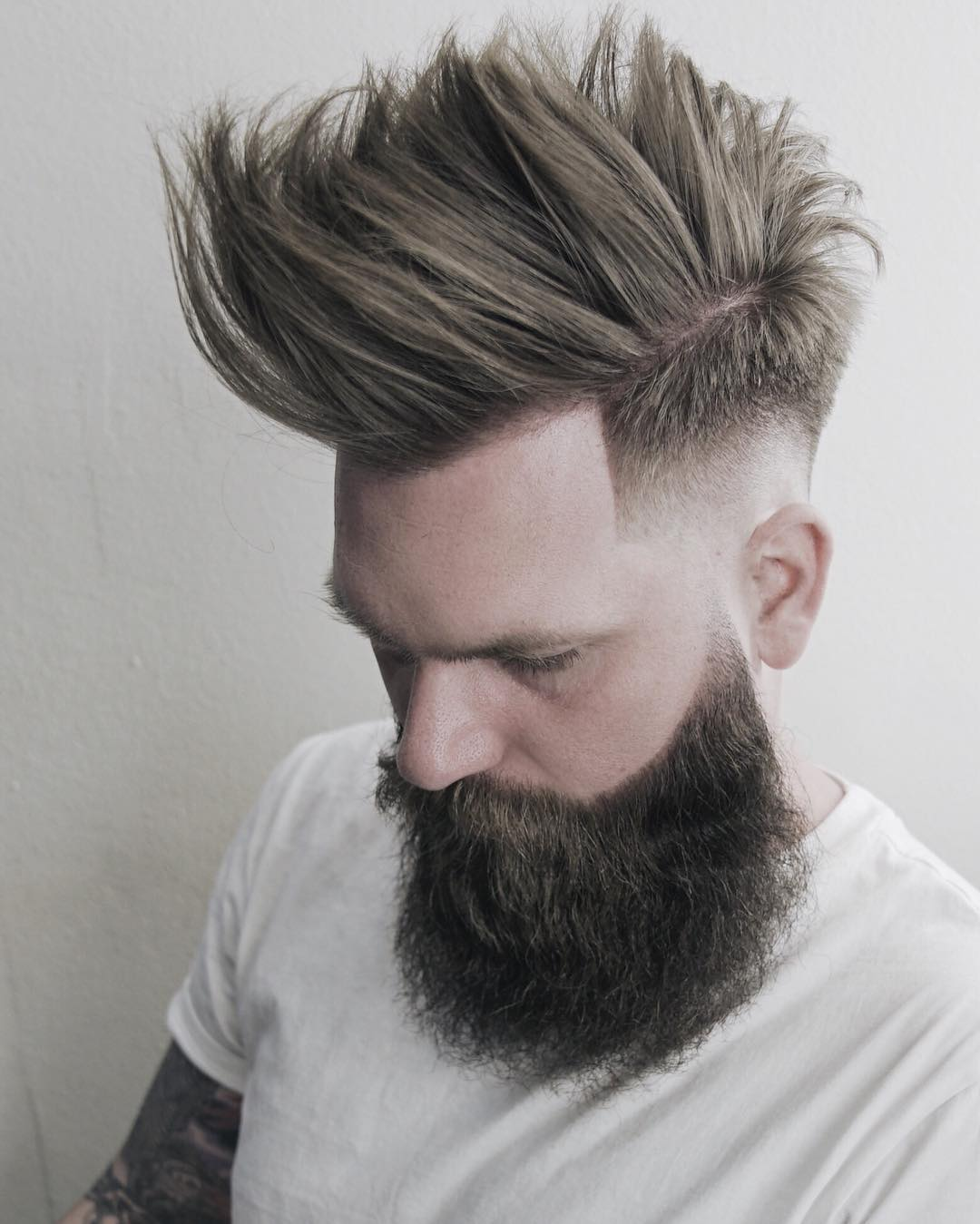 staygold31 fauxhawk medium length haircuts 2018