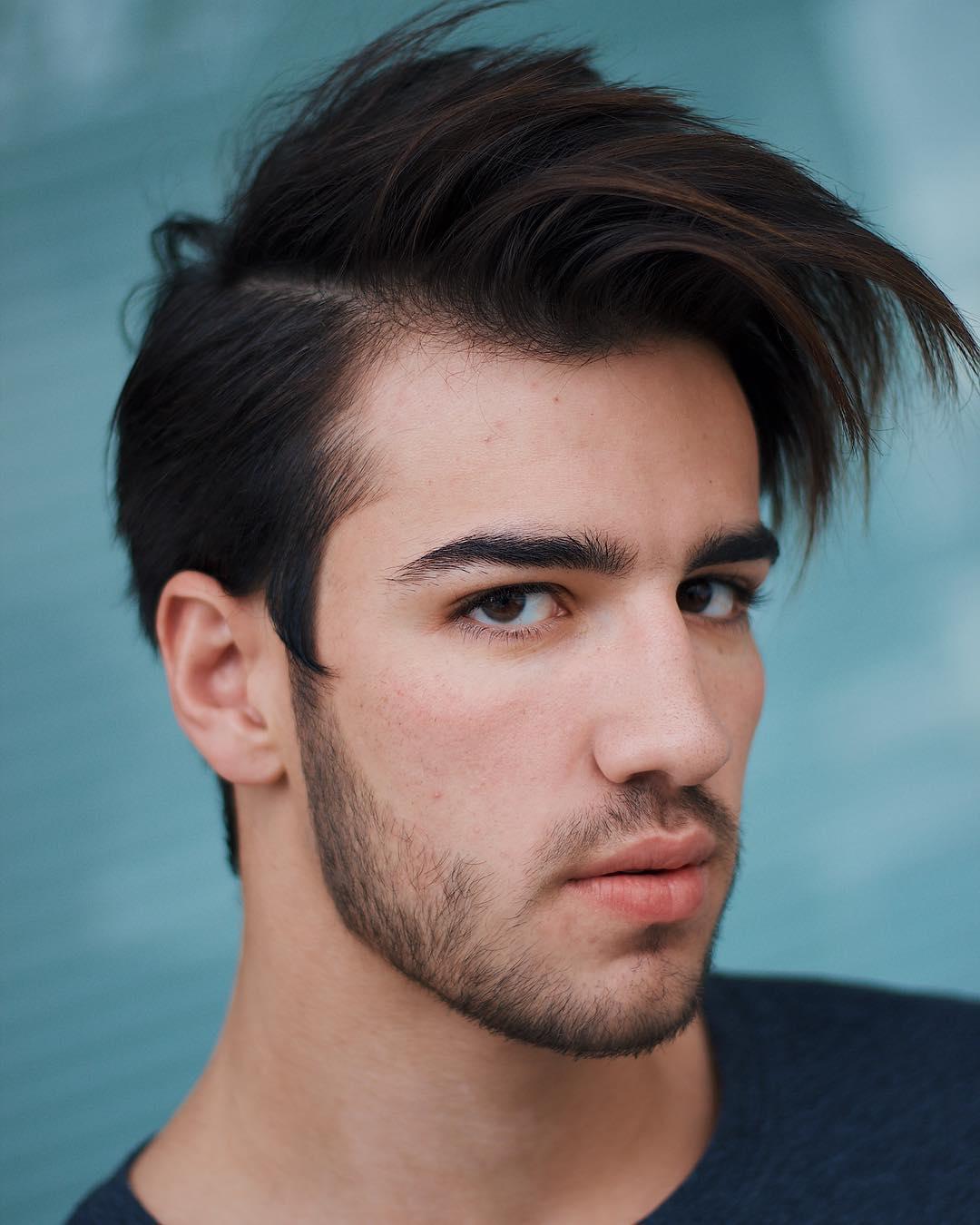 travisanthonyhair medium length hair modern latest mens hairstyles 2018