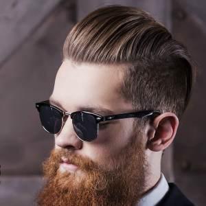 beard styles latest slick back hairstyles for men 2018