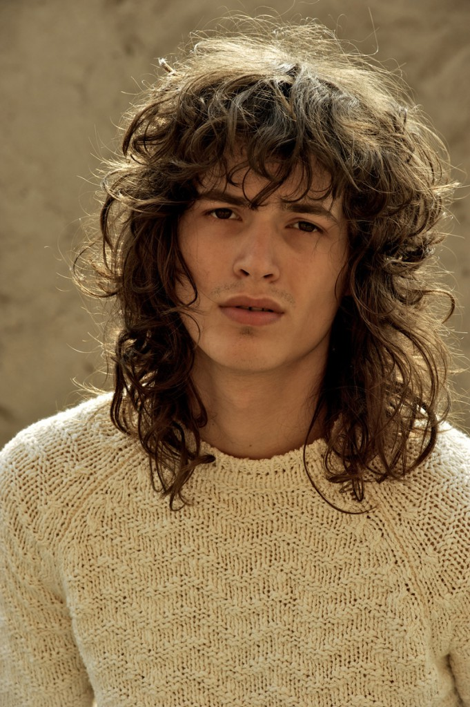 george models old rockstar cool long hairstyles for men