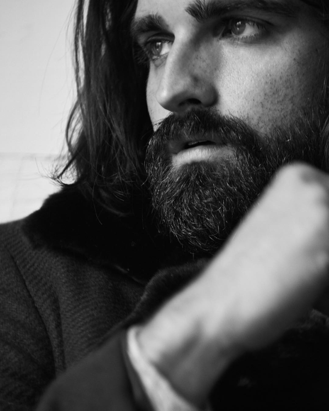 hahajoel long messy beardman beard styles for men