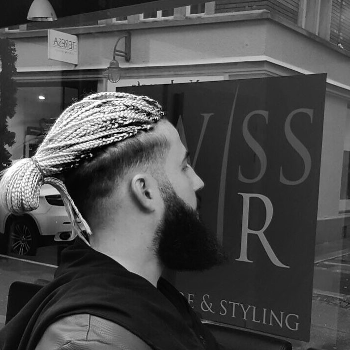 _karco ponytail man bun with beard latest mens hairstyles for long hair