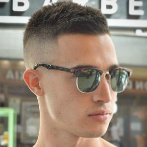 spiky cool easy hairstyles for mens f pic