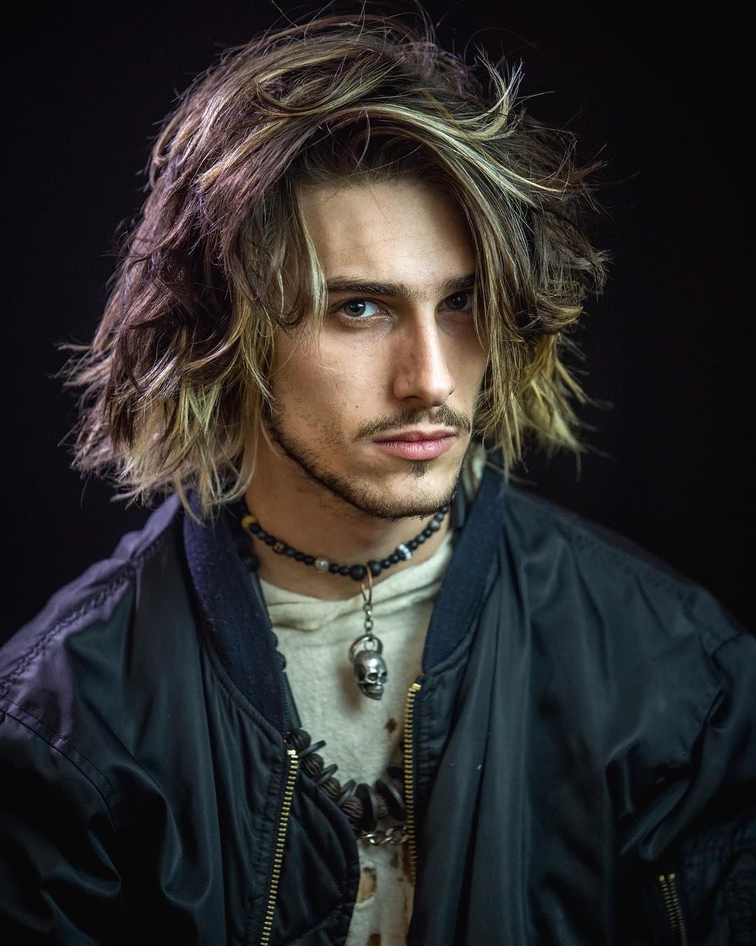 sugarskulls modern man long textured latest mens hairstyles for long hair
