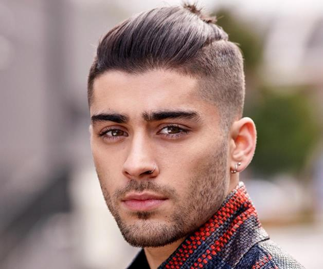 zayn malik hairstyle 2017 long hair man bun zayn malik hairstyle