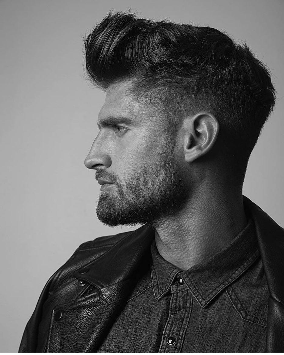 4hairfashion modern pompadour haircut 2018