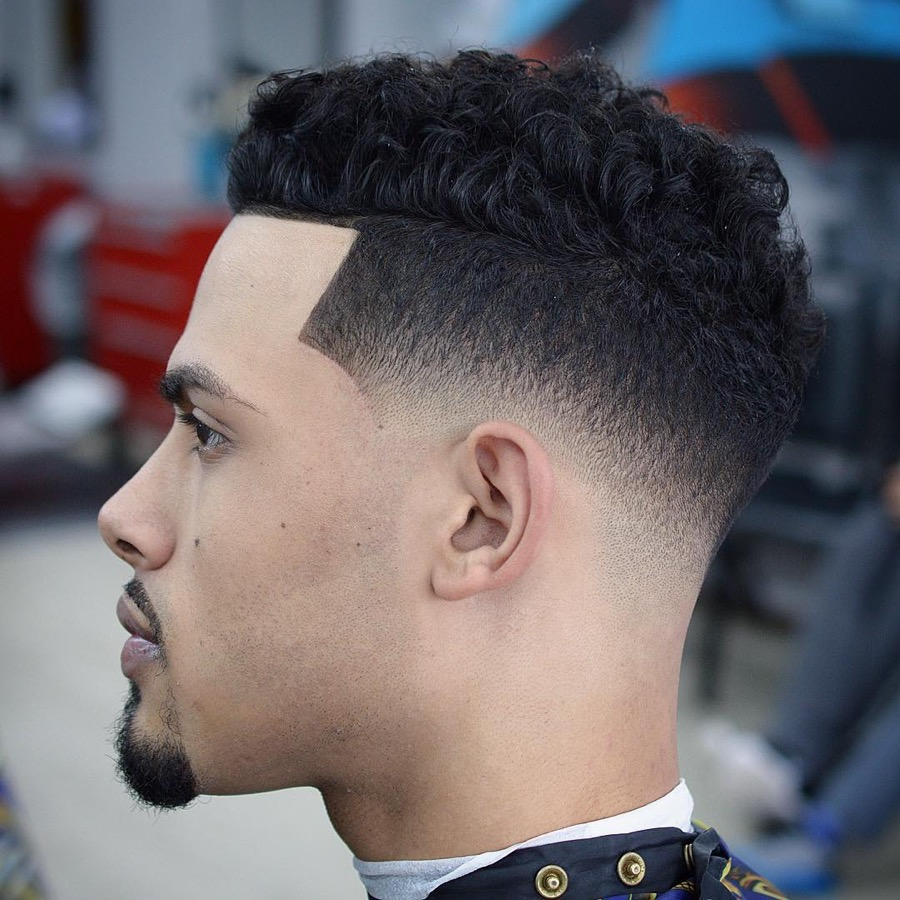 andyauthentic low skin fade shaved line up
