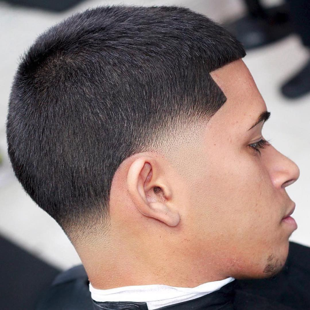 barberlessons_ cool blowout fade haircuts 2018