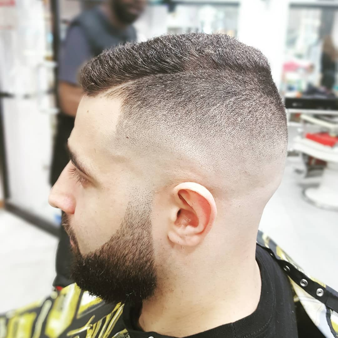 hagen_barber comb over fade haircut latest 2018