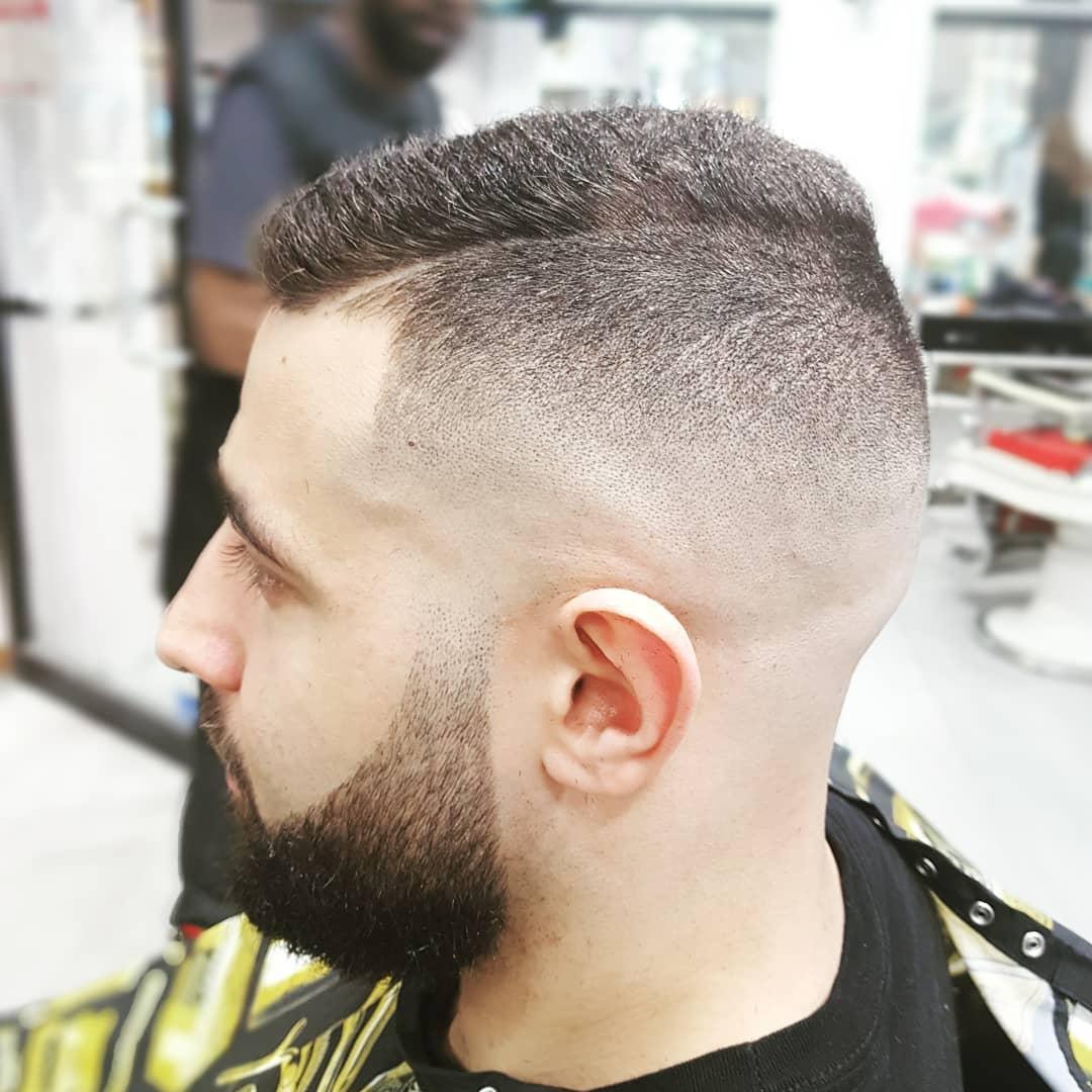 hagen_barber comb over fade haircut latest 2018