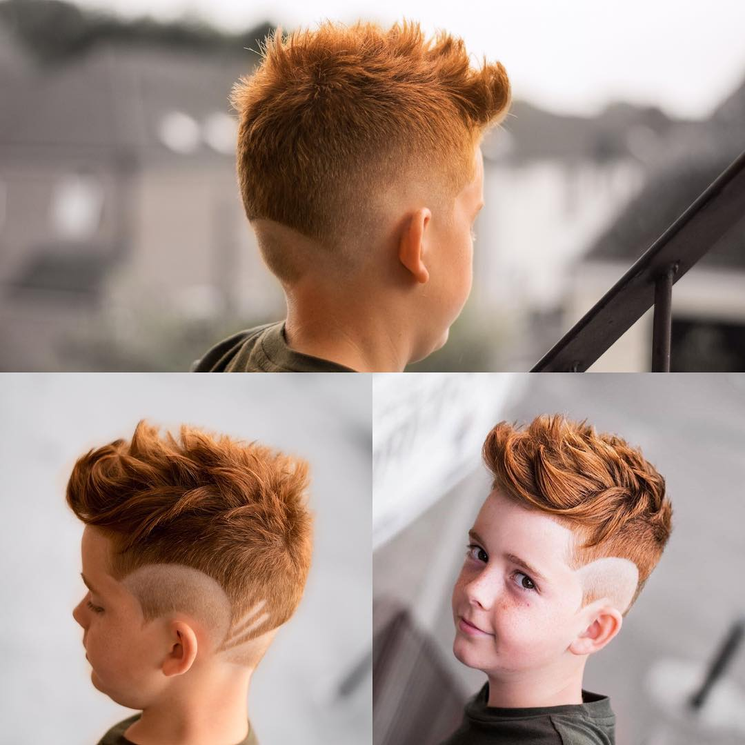jarredsbarbers latest boys fade haircut 2018