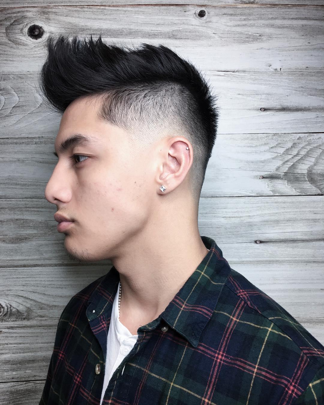 johnny_snips pomp hawk pompadour haircut