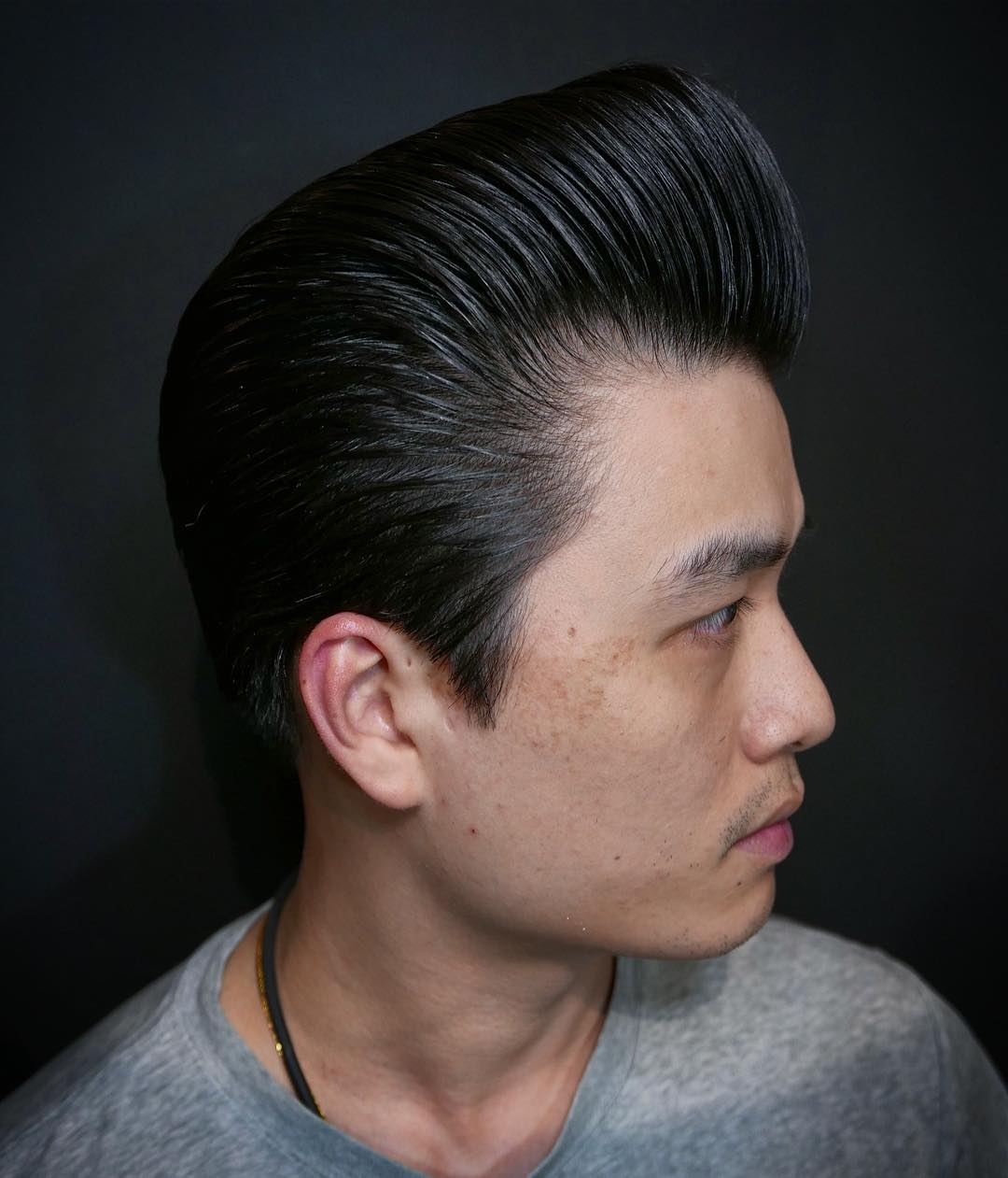 mikesr400 asain pompadour hairstyle pompadour haircut
