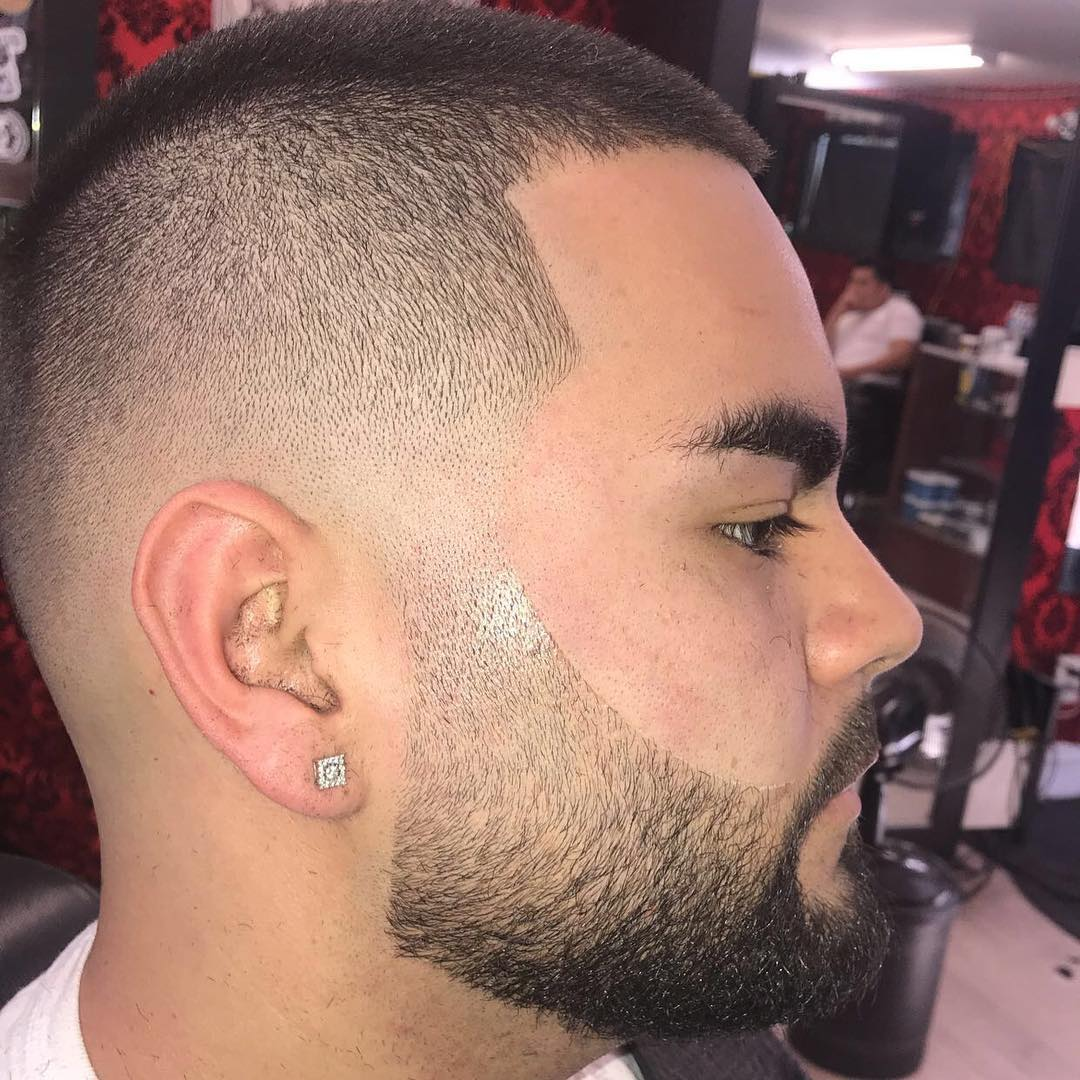 mista_kutz latest cool bald fade haircut for mens