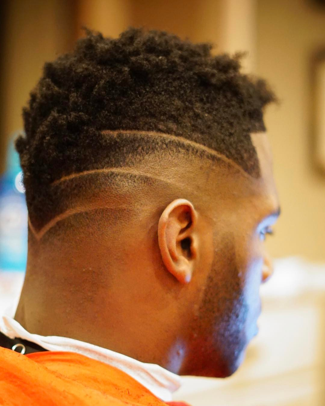 nellynelthebarber mohawk fade haircut for black men