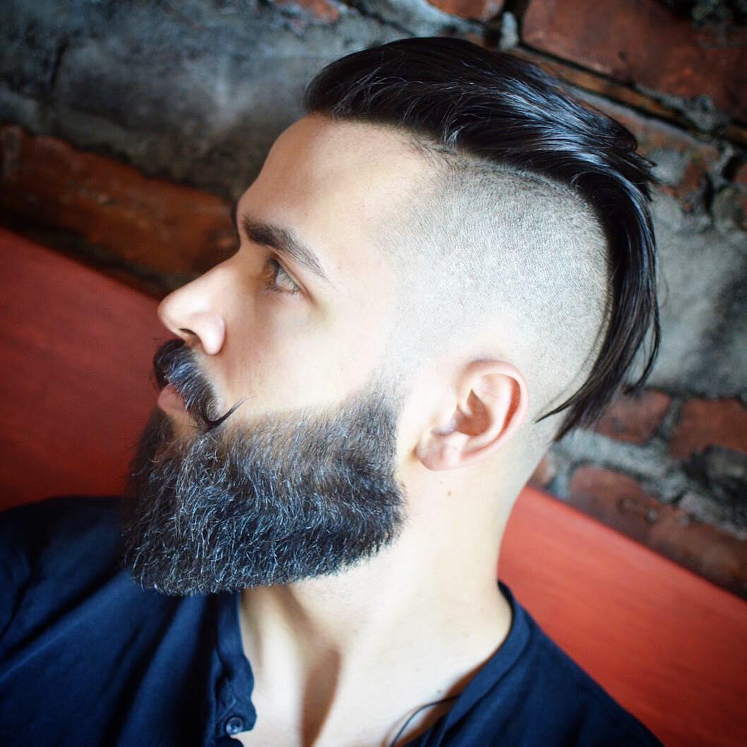 ninothenice cool fade haircut medium fade with mustache