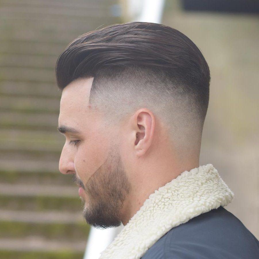 onelovebarber latest fade haircut skin fade haircut slick back