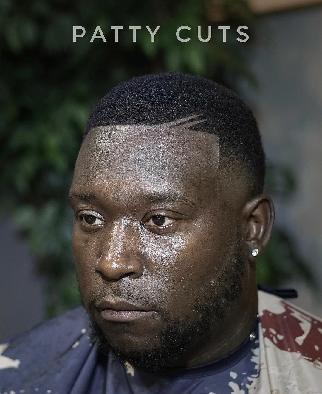 patty_cuts fade haircut black with cool buzz cut hairstyle