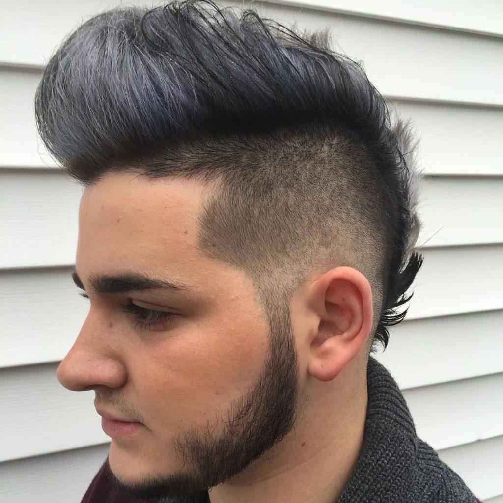 reflection_hairdesign fohawk fade haircuts fauxhawk pomp