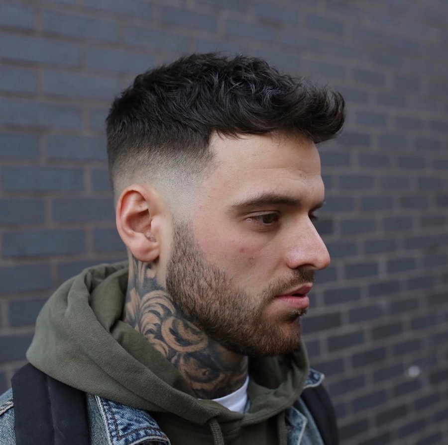 rpb_nq mid fade haircut cool hairstyle