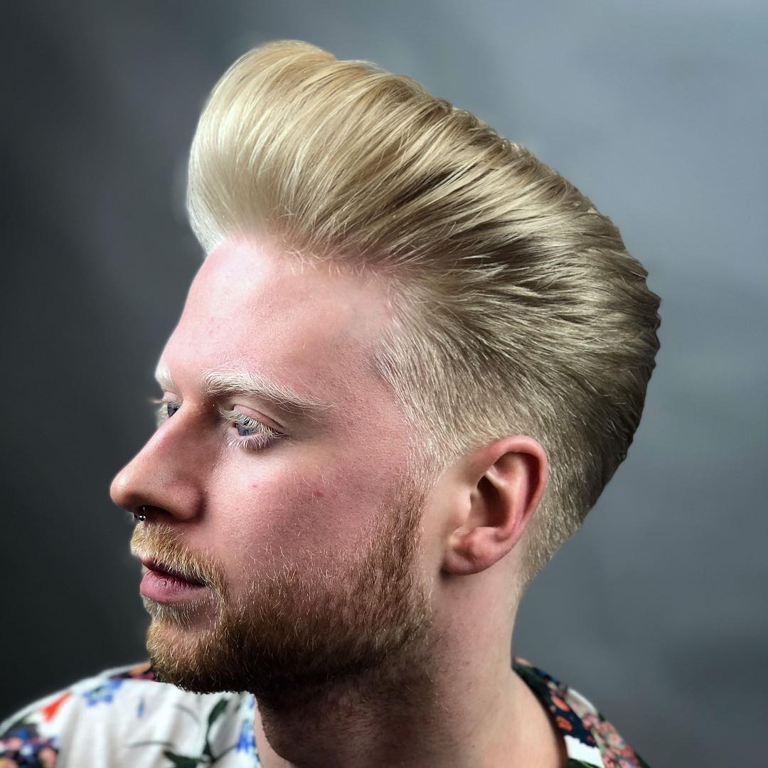sidsottungacademy how to style a pompadour haircut 2018
