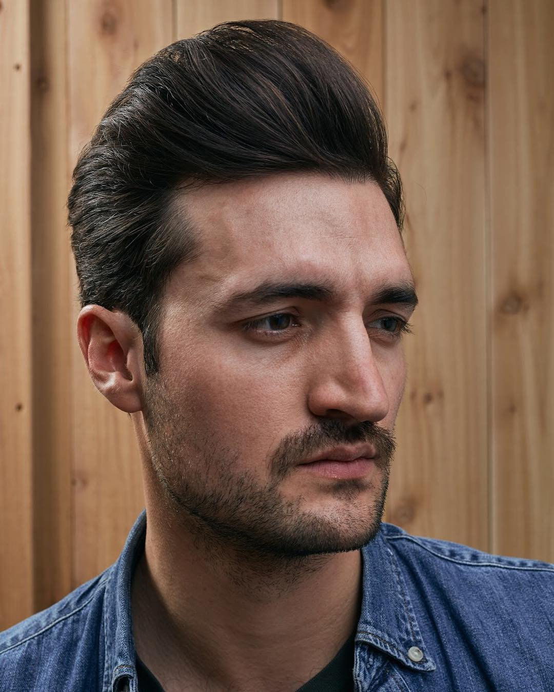 twobitsbarber latest cool elvis pomp 2018 pompadour haircut