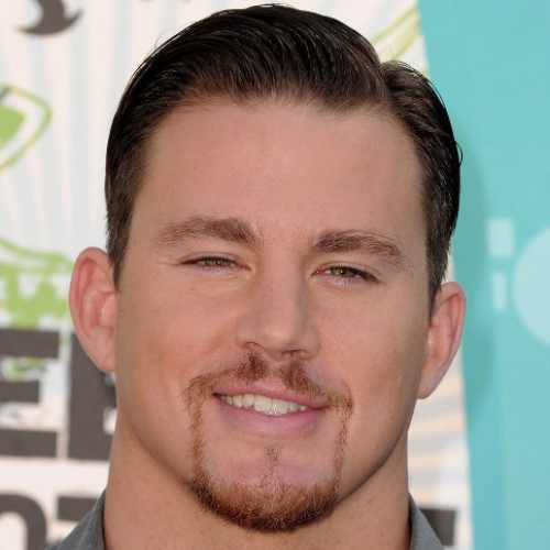Channing Tatum Haircut with beard