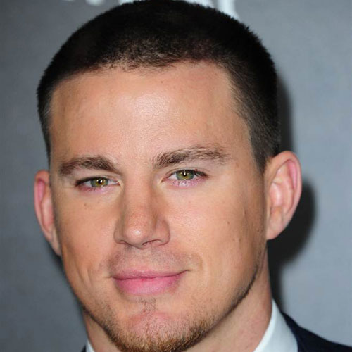 Channing Tatum buzz cut crew cut celebrity hairstyles for men
