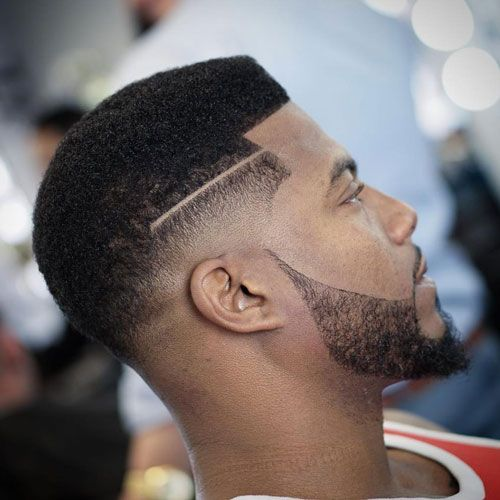black men fades high fade with razor cut