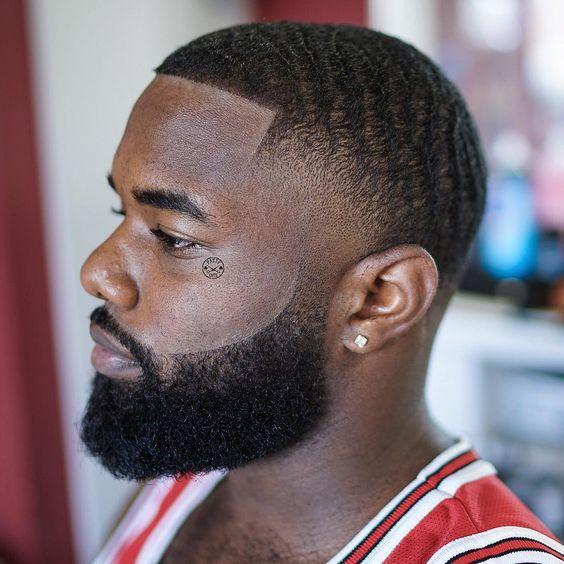 black men fades of taper fade black men