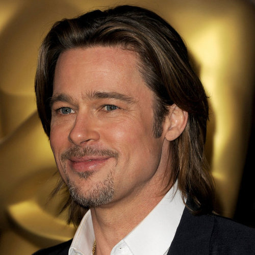 brad pitt haircut long hairstyle celebrity hairstyles for men