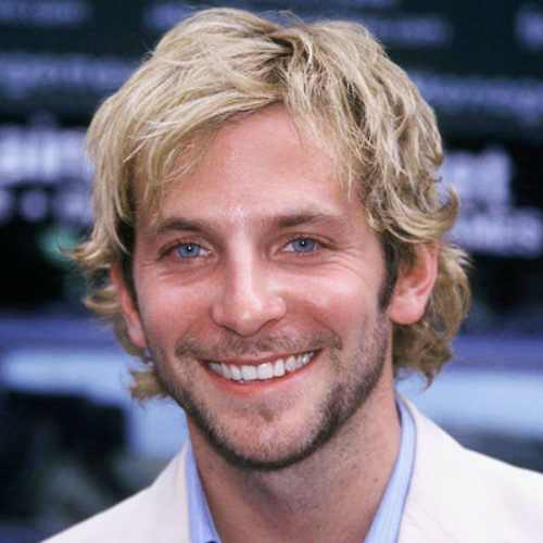 bradley cooper blonde long hair