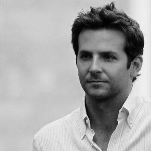 bradley cooper haircut puffy hairstyle
